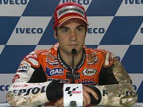 Dani Pedrosa interview after QP in Phillip Island