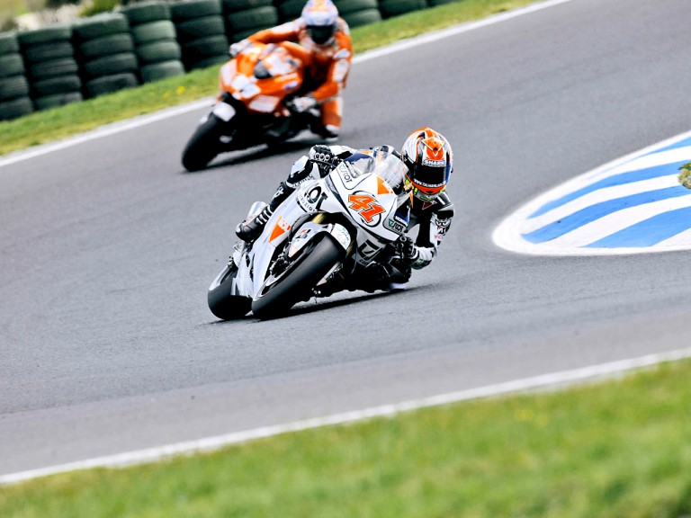 Gabor Talmacsi in action in Phillip Island