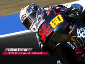 Julian Simon, 2009 125cc World Champion