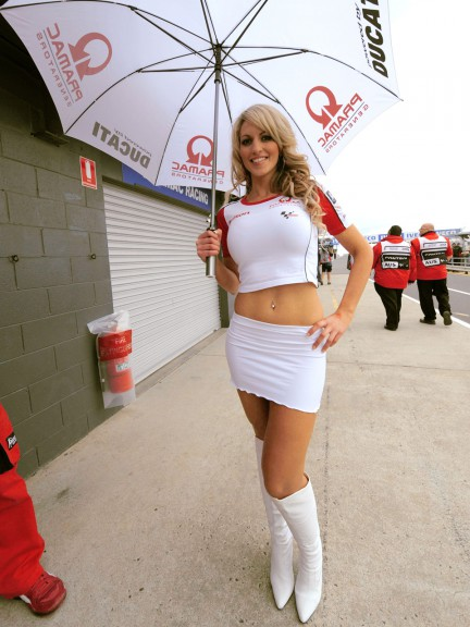 Paddock Girls at the Iveco Australian Grand Prix