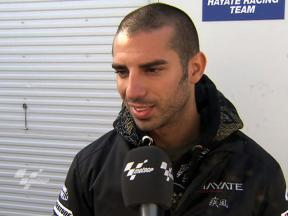 Melandri pleased to win head to head
