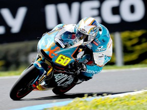 Julián Simón in action in Phillip Island