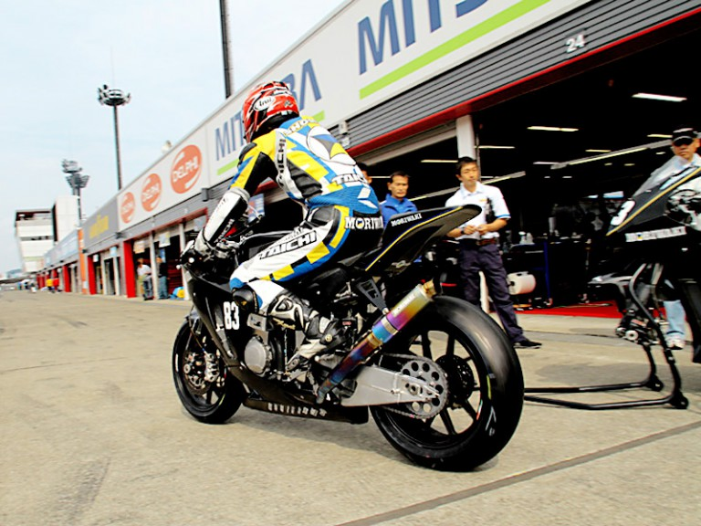 Shogo Moriwaki Moto2 at the All Japan Road Race Championship