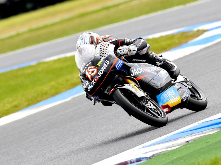 Nico Terol in action in Phillip Island
