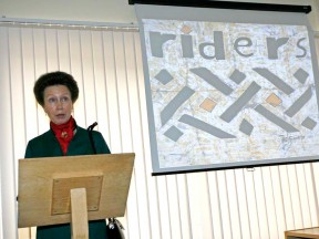 New Riders for Health offices opened by HRH The Princess Royal
