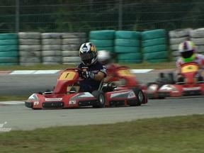 Riders enjoy karting at Sepang