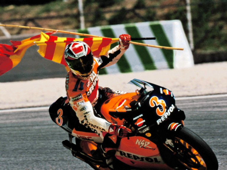Former 500cc 1999 World Champion Alex Crivillé