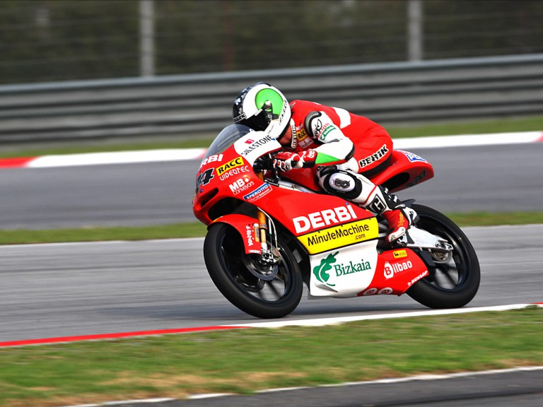 Pol Espargaró in action in Sepang