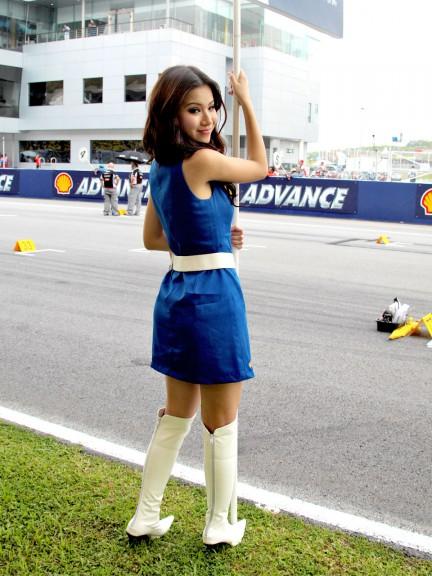 Paddock Girls at the Shell Advance Malaysian Motorcycle GP