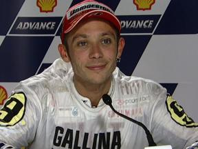 Valentino Rossi interview after race in Sepang