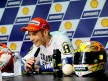 Rossi at the post-race press conference in Sepang