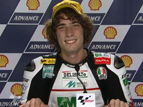 Marco Simoncelli interview after race in Sepang