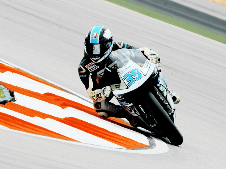 Raffaele de Rosa in action in Sepang