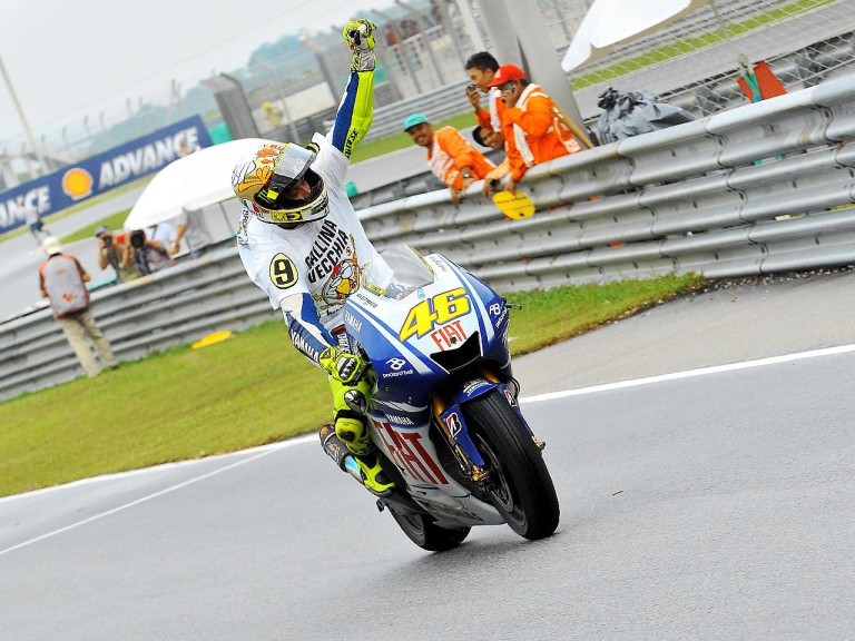 2009 MotoGP World Champion Valentino Rossi