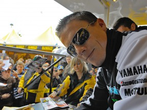 James Toseland and DEWALT in the MotoGP paddock