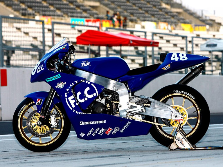 Moto2 TSR6 bike