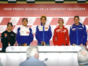 MotoGP Press Conference at GP Generali de la Comunitat Valencia