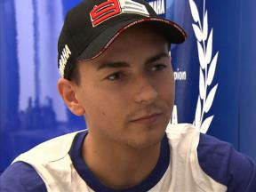 Lorenzo reflects on Valencia FP1