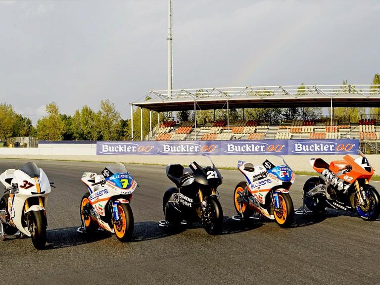Moto2 bikes
