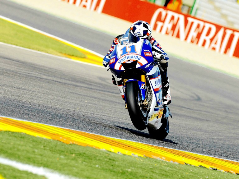 Ben Spies in action in Valencia