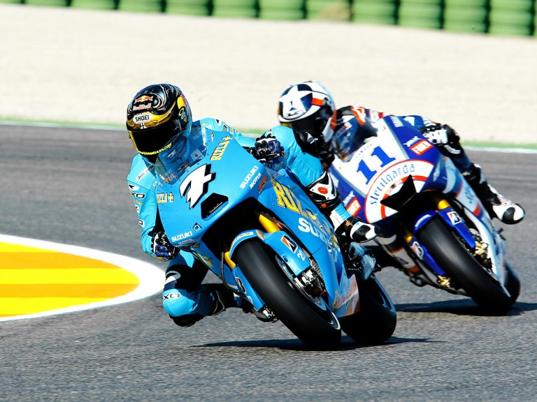 Vermeulen riding ahead of Spies in Valencia