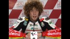 Marco Simoncelli interview after QP in Valencia