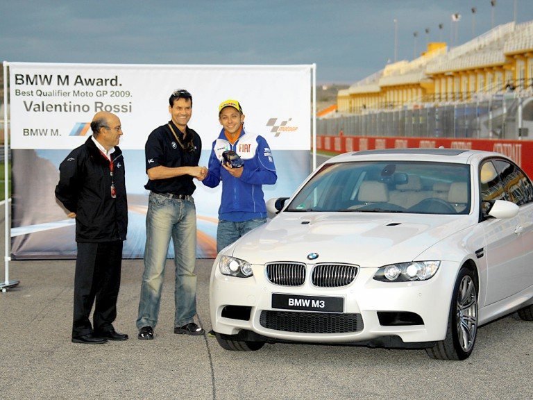 BMW Award: Rossi best Qualifier MotoGP 2009
