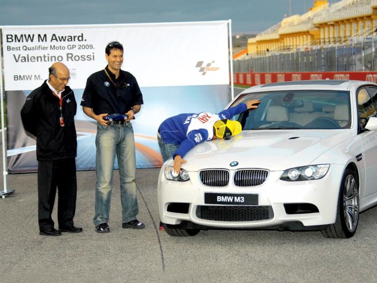 BMW Award: Rossi best Qualifier MotoGP 2009