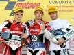 Bautista, Barberá and De Rosa on the podium at Valencia