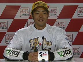 Hiroshi Aoyama, 2009 250cc World Champion interview