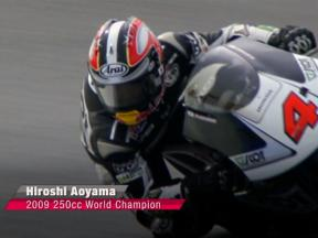 Hiroshi Aoyama, 2009 250cc World Champion