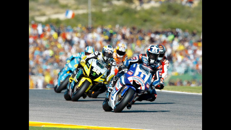 MotoGP Group in action in Valencia