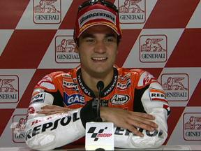 Dani Pedrosa interview after race in Valencia