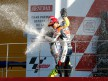 Pedrosa and Rossi celebrate podium in Valencia