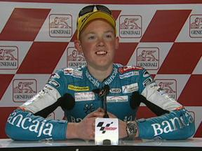 Bradley Smith interview after race in Valencia