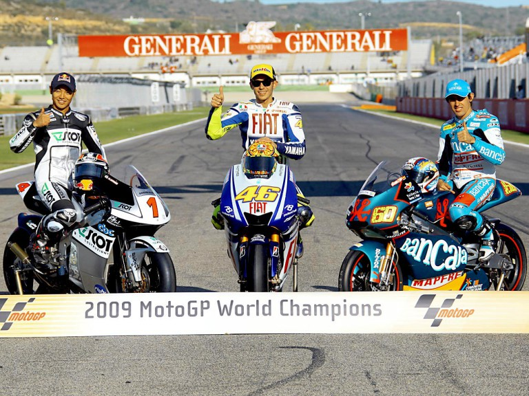 2009 MotoGP World Champions