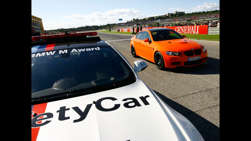 BMW M3 GTS turn heads in Valencia