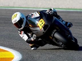 Álvaro Bautista at the Valencia Post GP Test