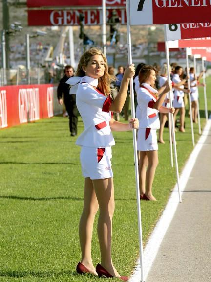 Paddock Girls at the GP Generali de la Comunitat Valenciana