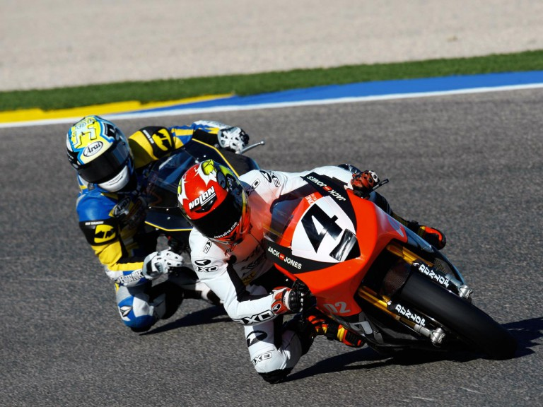 Joan Olivé at the Valencia Post GP Test