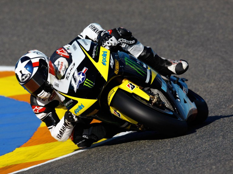 Ben Spies at the Valencia Post GP Test