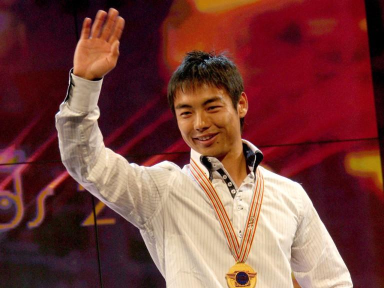 Hiroshi Aoyama at the 2009 FIM Awards Ceremony