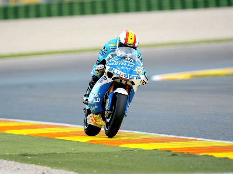 Alex Debon in action in Valencia