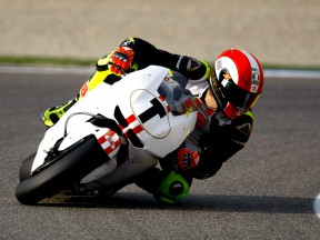 Marco Simoncelli at the Valencia Post GP Test