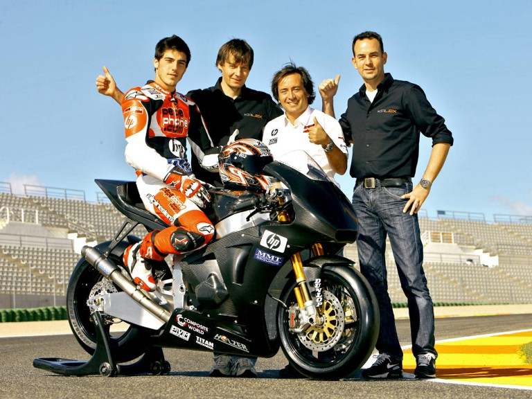 Pons Kalex Team at the Valencia Post GP Test