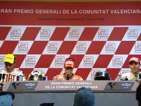 Valencia Post-race Full Press Conference