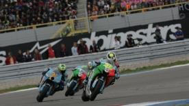 Valentino Rossi took victory ahead of Casey Stoner in Holland after a stunning comeback from 11th while reigning Champ Hayden took his first podium of 2007.