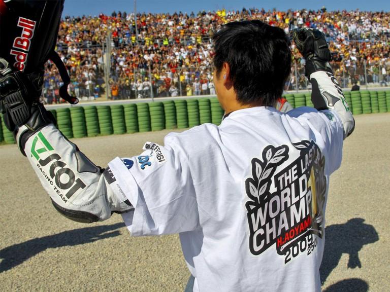 250cc 2009 World Champion Hiroshi Aoyama