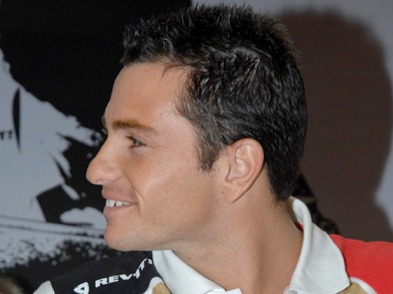 Randy de Puniet meets the fans at Eicma in Milan