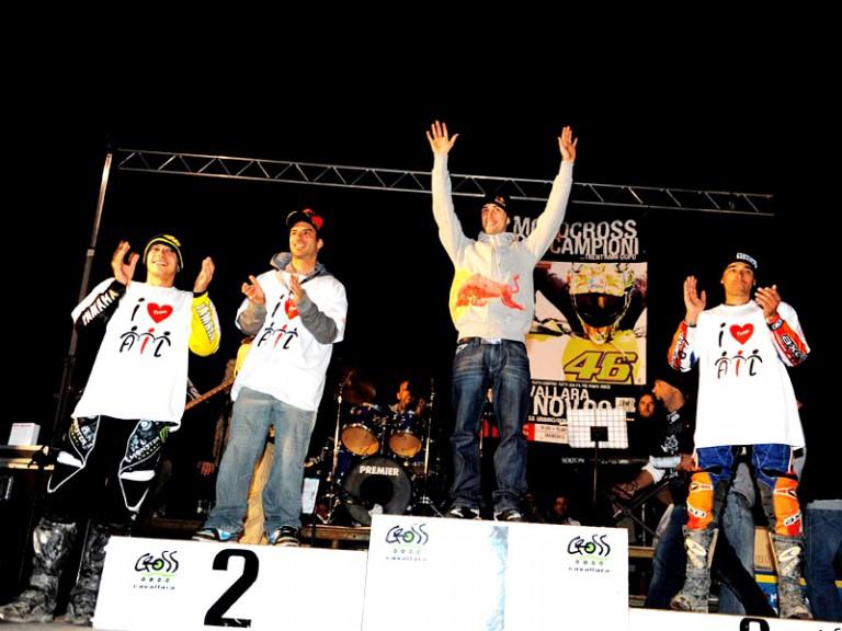 MotoGP riders at Motocross dei Campioni